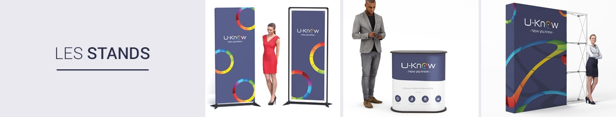 Pop-Up Stands