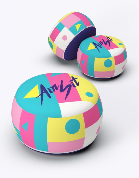 AIR SIT  Pouf Gonflable
