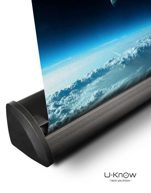 ROLLHQ 080  Enrouleur Luxe Noir 80 x 200 cm