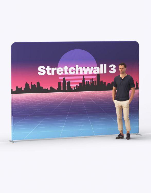 STRETCH WALL 3  Mur D'Image 3 x 2,3m