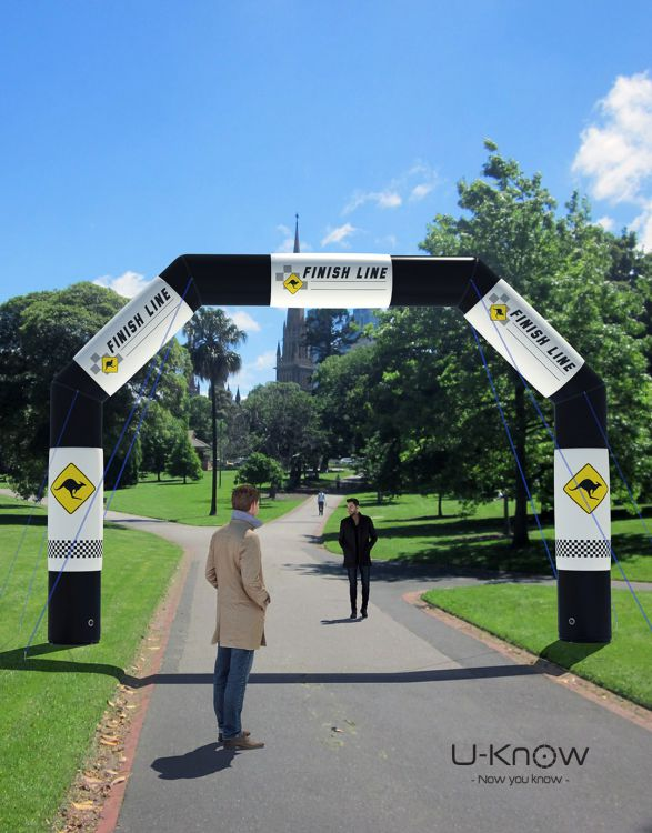U-GATE 650  Inflatable Advertising Arch 4,5 x 3,2m
