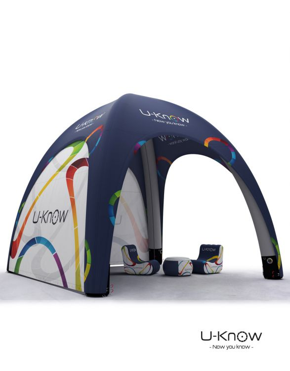 U-TENT 600  TENTE GONFLABLE 6x6m